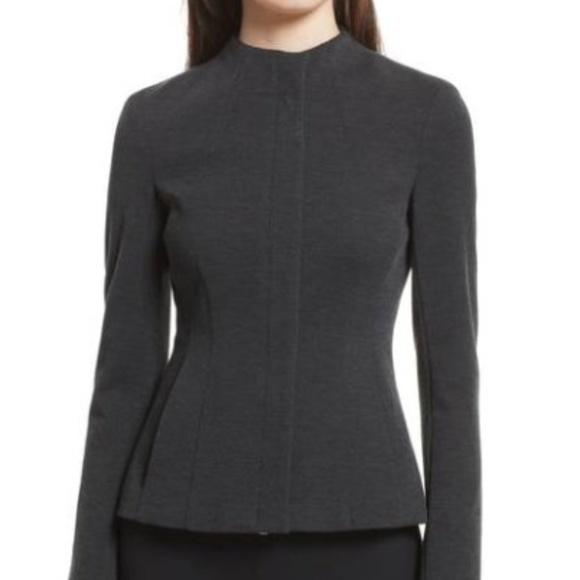 bab9dc96f7 Theory Jackets & Coats | Sculpted Knit Twill Jacket | Poshmark